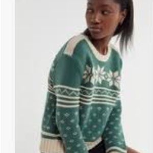 NWT 🎈Urban outfitters snowflake sweater